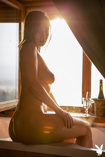 Sophie Limma in Sensual Relaxation from Playboy
