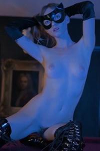 Nastasia Celeste amaze us with her perfectly shaped figure during sensual undressing